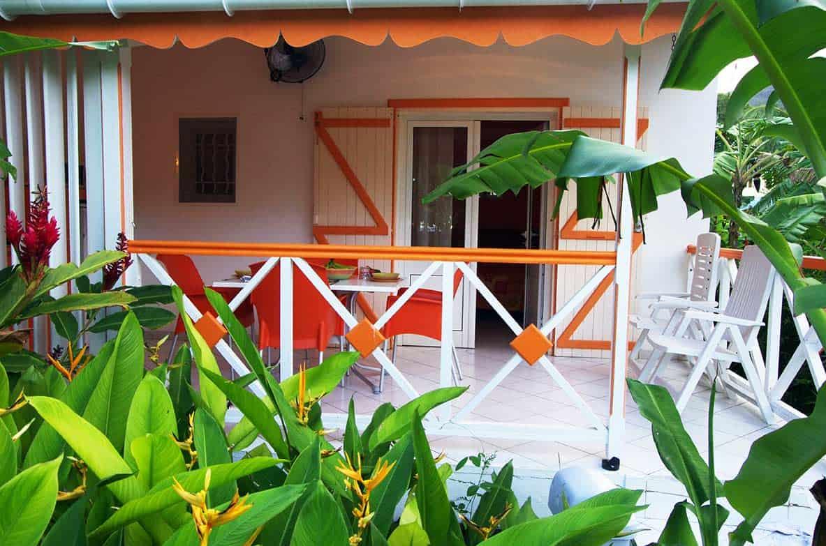 Bungalow Exterieur Terrasse Jardin