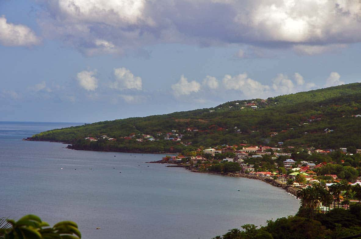 Commune Pointe Noire Mer Guadeloupe Caraibes