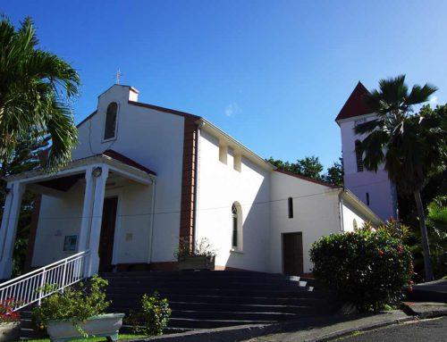 L'église de Deshaies